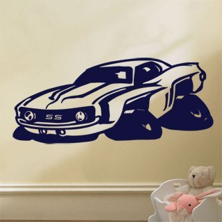 Samolepka na zeď Auto 015 - 141x60 cm