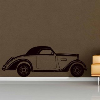 Samolepka na zeď Auto 012 - 129x60 cm