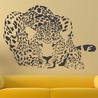 Samolepka na zeď Leopard 004 - 120x83 cm