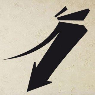 Samolepka Šipka 014 - 82x80 cm