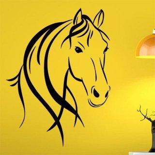 Samolepící dekorace Kůň 0364 - 91x120 cm