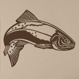 Nálepka na zeď Ryba 001 - 125x100 cm