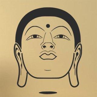 Samolepka Hlava Budhy 1291 - 120x154cm