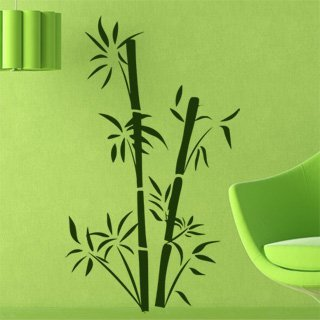 Samolepka na zeď Bambus 002 - 60x103 cm