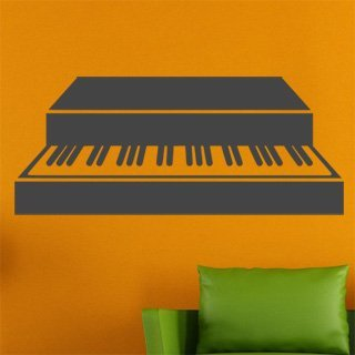 Nálepka na zeď Piano 006 - 240x100 cm