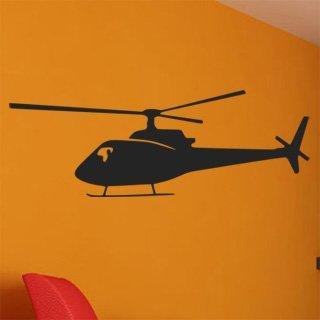 Samolepka na zeď Helikoptéra 005 - 120x42 cm
