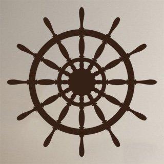 Nálepka na zeď Kormidlo 001 - 120x120 cm