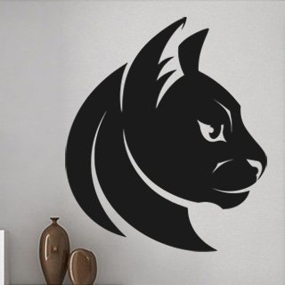 Samolepka Kočka 0468 - 86x100 cm
