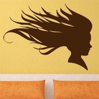 Nálepka na zeď Žena 013 - 132x100 cm