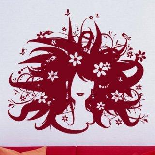 Samolepící dekorace Žena 005 - 136x120 cm
