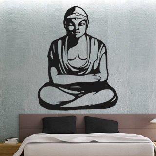Samolepka na zeď Budha 002 - 60x79 cm