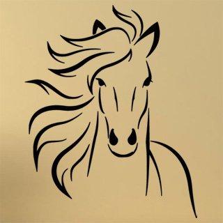 Samolepící dekorace Kůň 0387 - 100x125 cm