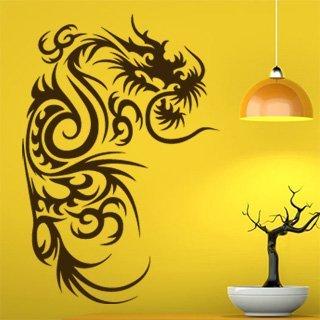 Samolepící dekorace Drak 013 - 100x148 cm
