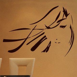 Samolepící dekorace Geisha 001 - 120x88 cm