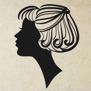 Samolepka na zeď Žena 007 - 60x78 cm