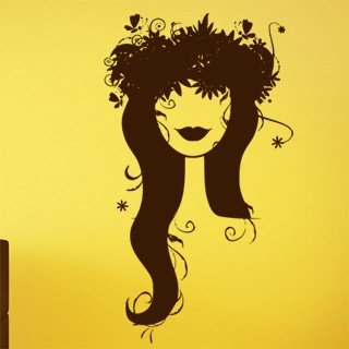 Samolepka Žena 011 - 69x120 cm