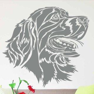 Samolepka na stěnu Pes 006 - 129x120 cm