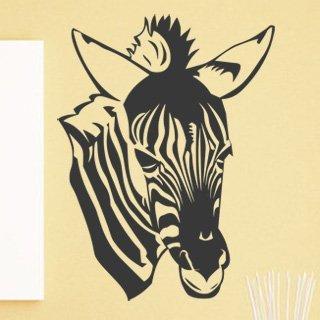 Nálepka na zeď Zebra 017 - 100x133 cm