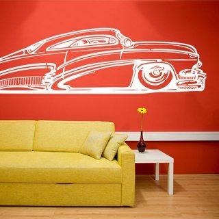 Samolepka na zeď Auto 002 - 213x60 cm