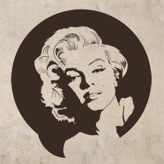 Samolepka Marylin Monroe 001 - 113x120 cm