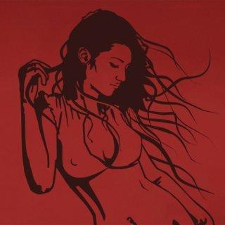 Nálepka na zeď Dívka 016 - 120x166 cm