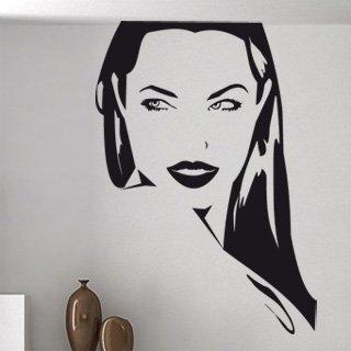 Samolepka na zeď Dívka 002 - 60x86 cm