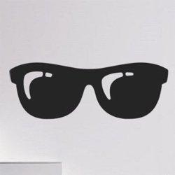 Samolepky na zeď Sluneční brýle 1282