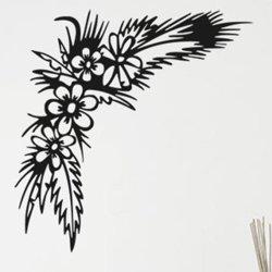 Samolepky na zeď Květiny 015