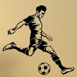 Samolepky na zeď Fotbalista 0583