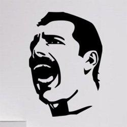 Samolepky na zeď Freddie Mercury 1366