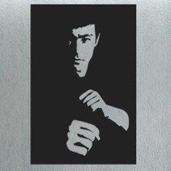 Samolepky na zeď Bruce Lee 001