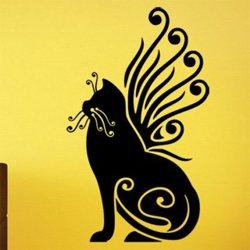Samolepky na zeď Kočka 0471