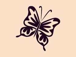 Samolepky na zeď Motýl 005