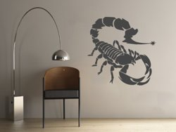 Samolepky na zeď Škorpión 001