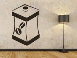 Samolepky na zeď Dóza na kávu 0124