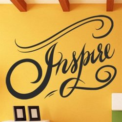Samolepky na zeď Nápis Inspire 0659