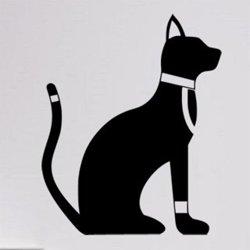 Samolepky na zeď Kočka 0486