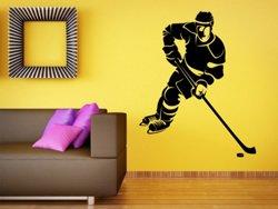 Samolepky na zeď Hokejista 0601