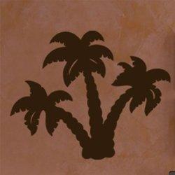 Samolepky na zeď Palmy 004