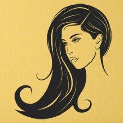 Samolepky na zeď Krásná brunetka 1057