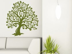 Samolepky na zeď Strom 015