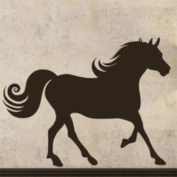 Samolepky na zeď Kůň 019