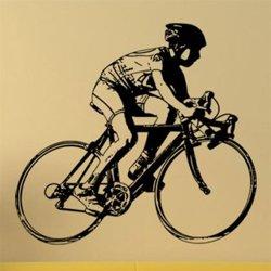Samolepky na zeď Cyklista 1044