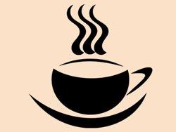 Samolepky na zeď Hrnek kávy 0045