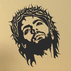 Samolepky na zeď Ježíš 1390