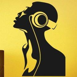 Samolepky na zeď DJ 003