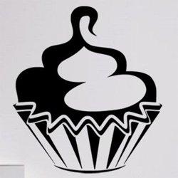 Samolepky na zeď Cupcake 0074