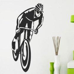 Samolepky na zeď Cyklista 1033