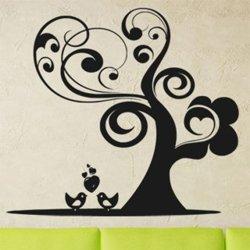 Samolepky na zeď Zamilovnaý strom 0222