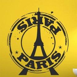 Samolepky na zeď Paříž 005